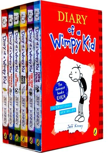 souq diary of a wimpy kid set of 6 books uae