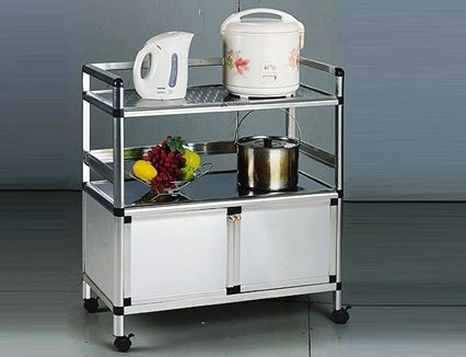 Price Review And Buy Aluminum Kitchen Cabinet Trolley