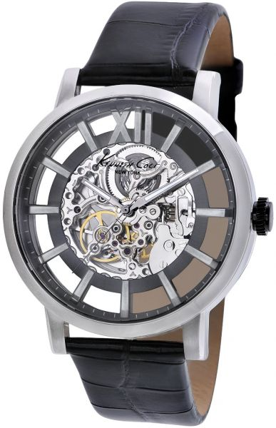 4bed569fb02 Kenneth Cole New York Men s KC1920 Transparency Automatic Roman ...