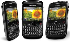 Blackberry Curve 8520 (256 MB, WiFi, Black)