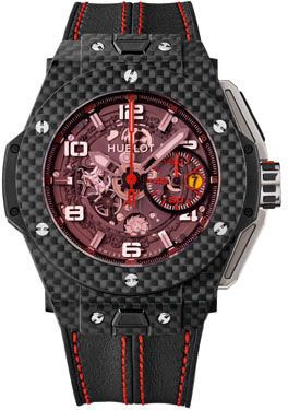 970e93bdf Hublot Big bang Ferrari Carbon Red Magic Watch | السعودية | سوق