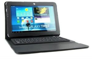 Bluetooth Keyboard Leather Case Cover For The Samsung Galaxy Note 10.1 N8000 N8010 - Black