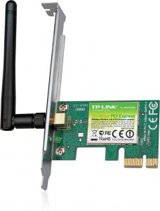 Buy tp link tl wn751nd 150mbps wireless n pci adapter black green