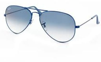 56aff1a5160df RAY BAN AVIATOR BLUE SHADED RB 3025