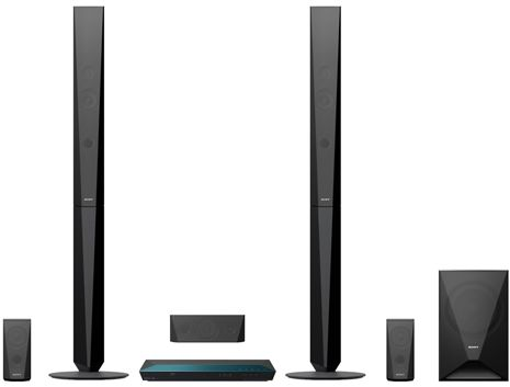 Sony 5 1 Channel Blu Ray Home Cinema System With Bluetooth