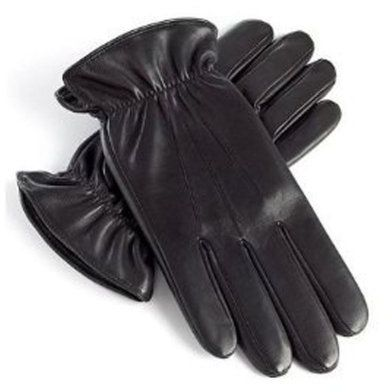Practical Soft Leather Gloves Size M Gardening Supplies