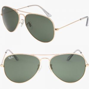 528cb6f309 Ray Ban Aviator Large Metal Sunglasses - Gold Rb3025 L0205 (58mm)