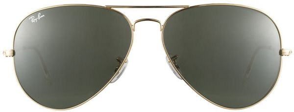 08d86c72155 Ray-Ban Men s Aviator Style Sunglasses - Arista Gold  RB3026-L2846 ...