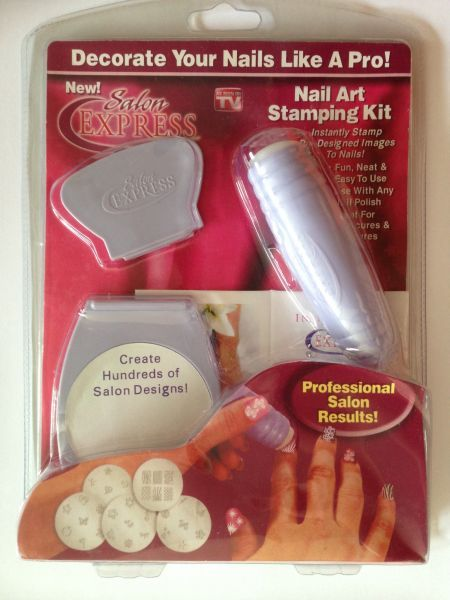 Buy Nail Art Stamping Kit Ksa Souq