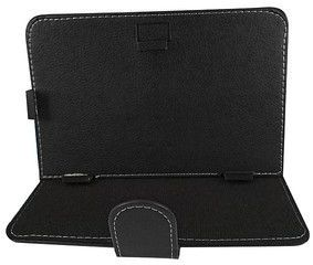 Universal 9 Inch Tablet Case Folio Leather Folding Flip Cover for Xtouch itouch wintouch symphony and other similar size 8 tablets - Black