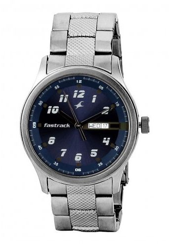 titan fastrack tnc3001sm02 watch for men review and buy in 399 00 sar