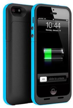 Iphone 5 5s 2500mah Rechargeable Battery Case External Power Bank