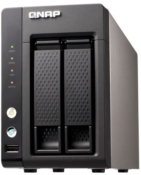 QNAP TS-221 Turbo NAS 2-bay with Media Server, DLNA