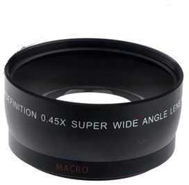 55mm 045x Wide Angle Macro Conversion Lens