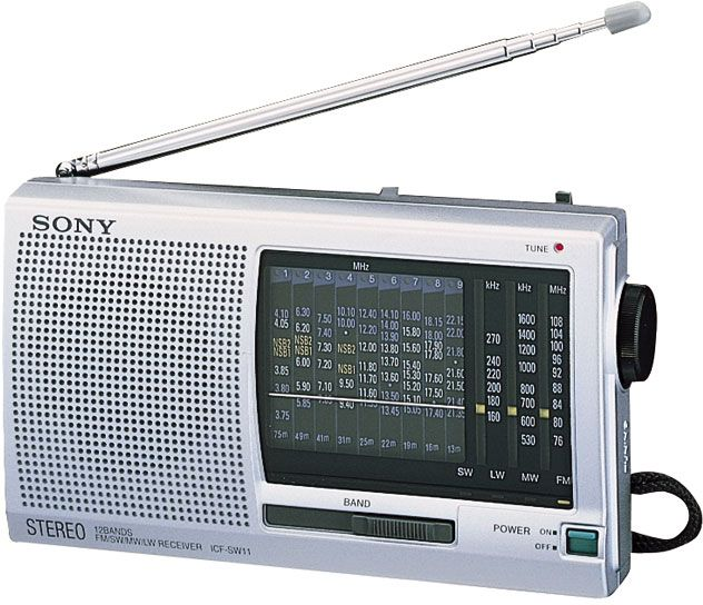 Sony World Band Radio ICF-SW11