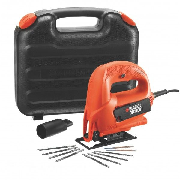 Buy black decker jigsaw 520w with 10 blades and kitbox model this item is currently out of stock greentooth Gallery