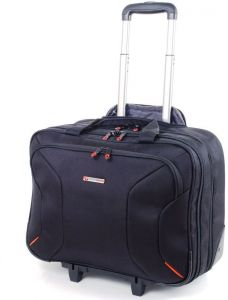 e6e35ce635 New Alpine Swiss Rolling Briefcase on Wheels Roller Laptop Case W Tablet  Sleeveآًُ