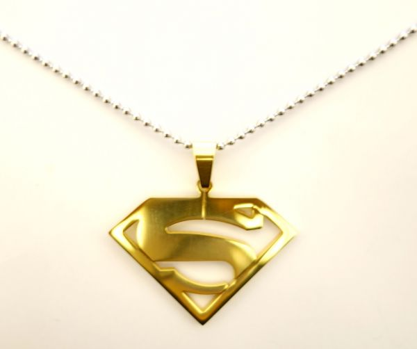 Buy superman pendant 1 necklace for menwomen valentine birthday 3500 aed mozeypictures Gallery