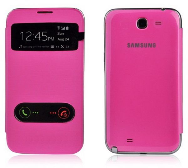 cheap for discount c498f 9894f S View Samsung Galaxy Star Pro GT-S7262 Flip Cover case - Pink ...