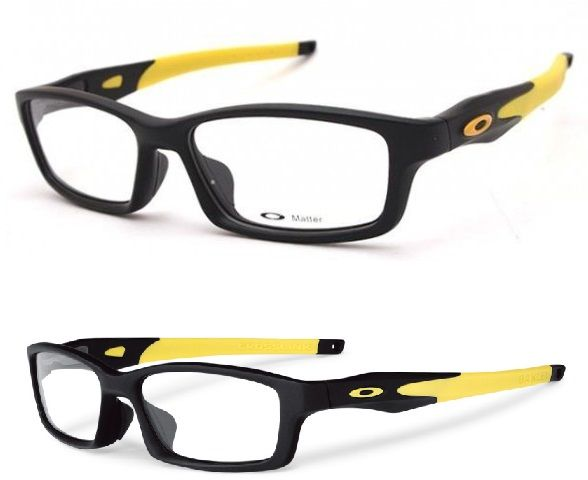 85049f1377 Oakley Crosslink OX8027 (Sandy Black   Yellow)