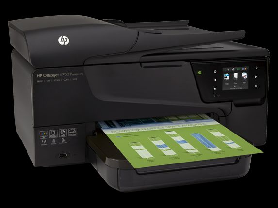طابعة  فاكس تصوير سكان HP Officejet 6700 Premium e-All-in-One Printer