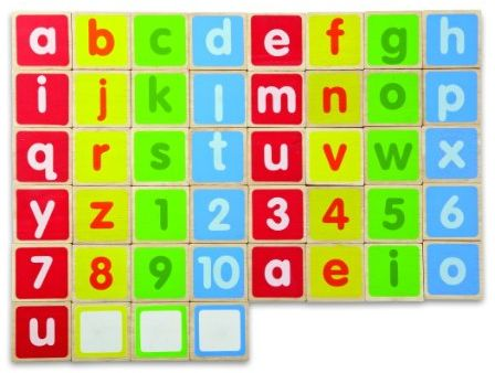Abc Lower Case Alphabet Magnets Souq Uae