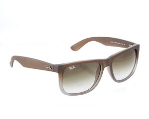 a341ca5eb5 Ray-ban Justin Unisex Sunglasses - Amber brown -RB4165-854 7Z55