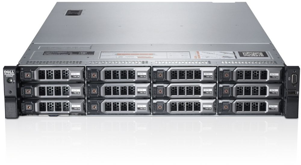PE R720 ‫(3.5 Chassis with up to 8 Hard Drives) / Intel Xeon E5-2609 Quad Core Processor / 4GB
