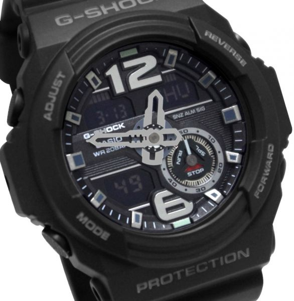 g shock watch for men by casio analog digital resin black this item is currently out of stock