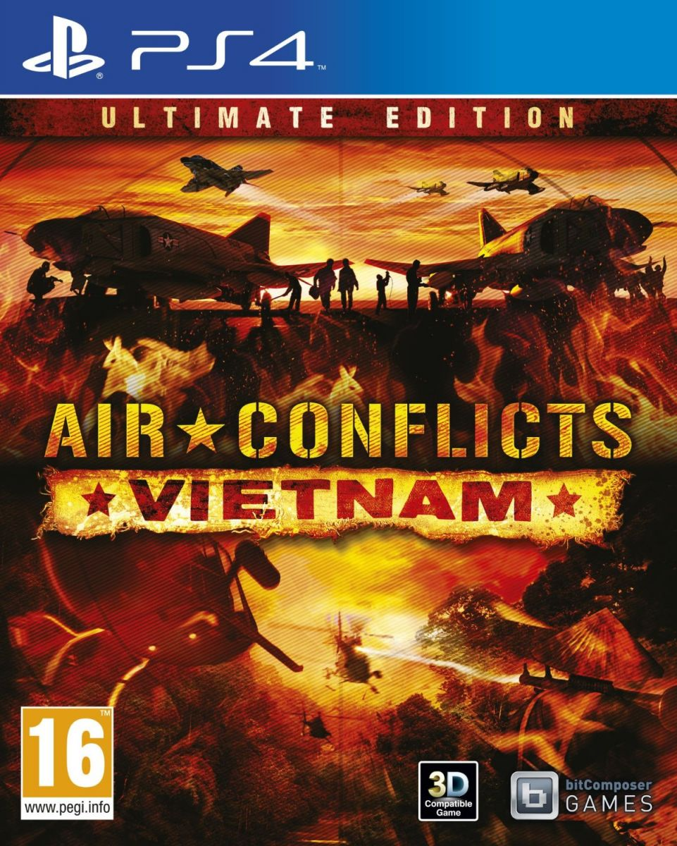 Air Conflicts - Vietnam ‫(PS4)