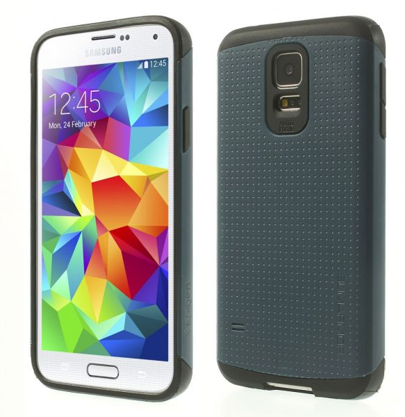 Slim Armor Series Case with Screen Protector for Samsung Galaxy S5 ... 74951f17a63
