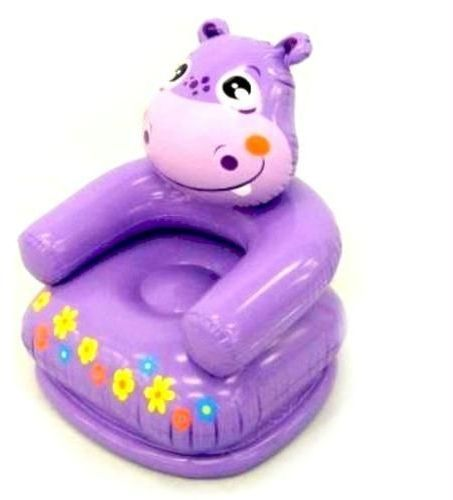 intex inflatable chair purple for children