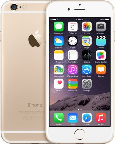 Apple iPhone 6 with FaceTime - 64GB, 4G LTE, Gold