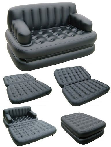 Jilong 5 In 1 Air Sofa Bed Black Souq Uae
