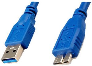 USB 3.0 CABLE A TO MICRO B FOR WD SEAGATE TOSHIBA SAMSUNG EXTERNAL HARD DRIVES