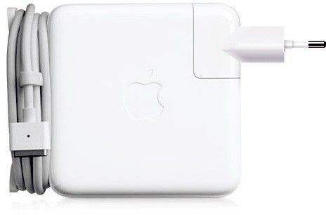 Apple 60W MagSafe 2 Power Adapter, White [MD565]
