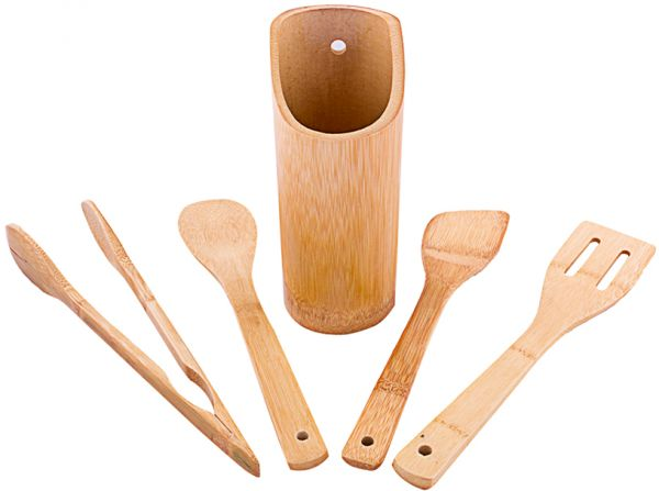 Buy Prestige Bamboo Kitchen Tool Set Of 5 Piece Pr42601