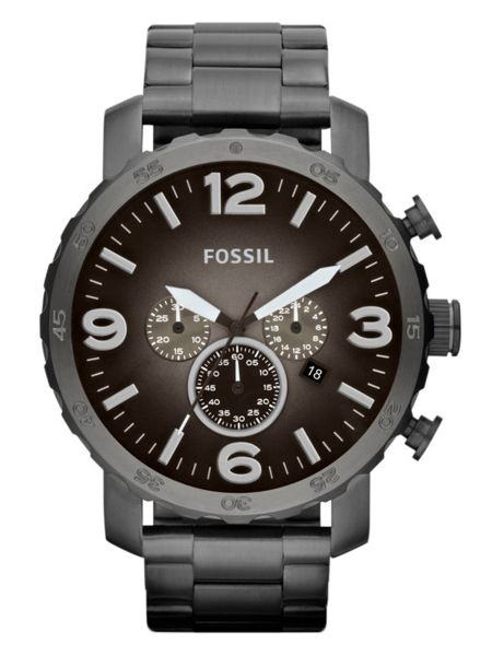 fossil nate watch for men analog stainless steel band jr1437 fossil nate watch for men analog stainless steel band jr1437
