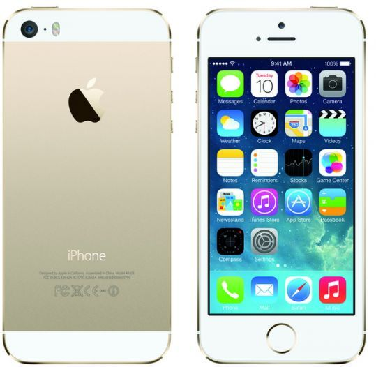 Apple iPhone 5S with FaceTime - 32GB, 4G LTE, Gold