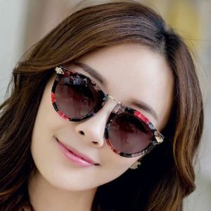 587b7e08606 Women Fashion Flower Style Retro Reflective Sunglasses Eyewear Driving  Sports Glasses