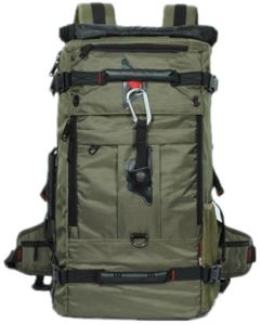 Multifunctional oxford backpack men large waterproof travel Bag outdoor  sport bag OSM91 Army Green c28aab7285c05
