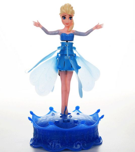 Disney Frozen Elsa Music Let It Go Flying Fairy Electronic Toys Dolls Kids Gift