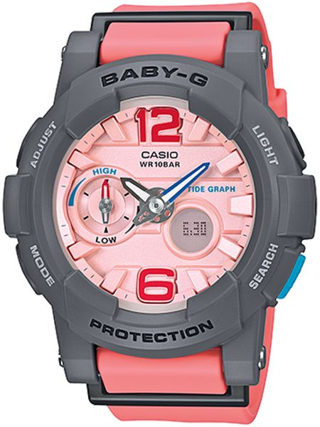 Casio Baby-G for Women - Analog-Digital BGA-180-4B2 Resin Watch ... 1f8ec51617ad