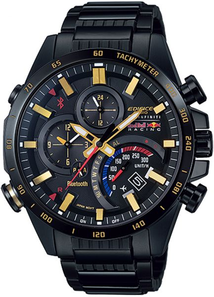 buy casio edifice red bull racing bluetooth watch for men. Black Bedroom Furniture Sets. Home Design Ideas