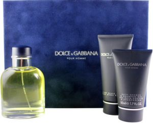8ae570c342562 D   G Dolce   Gabbana Pour Homme 125ML EDT 3 Pcs. Gift Set for Men