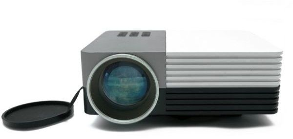 compact mini led projector with hdmi support 3d movies ksa souq