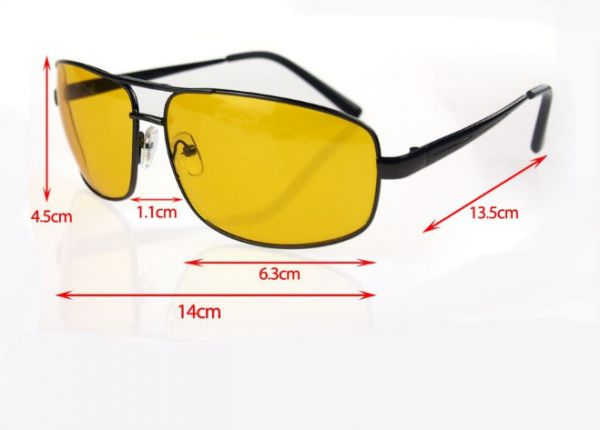 51a8458ad8 Glasses HD High Definition Night Vision Yellow Lens glasses