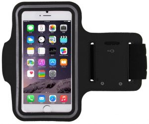 half off 9da77 3a6ec Black Sports Running Jogging Gym Armband Arm Band Case Cover Holder for  iPhone 6/iPhone 6S 4.7