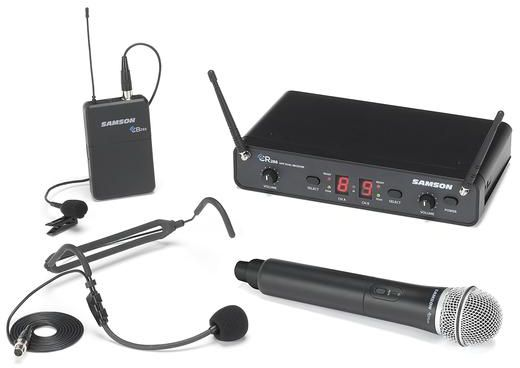 CR288  All in One - Dual-Channel Wireless System