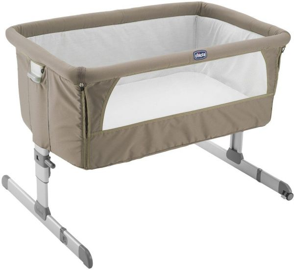Chicco Next2me Bedside Crib Dove Baby Play Yard Ch79339 72 Beige